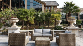 Salon de jardin de luxe pas cher