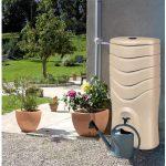 récuperateur d'eau de pluie et reservoir