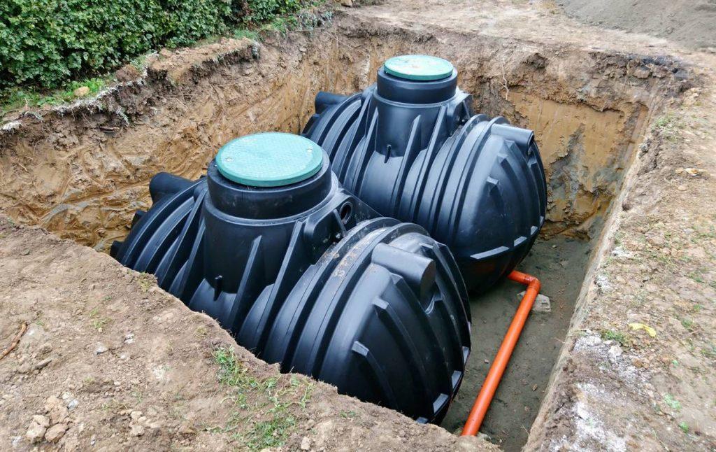 Citernes à eau enterrés